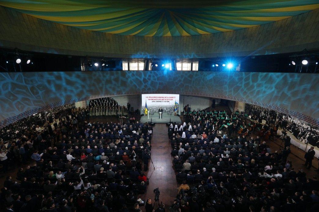 Предстоятель УПЦ принял участие в государственных мероприятиях по случаю Дня соборности Украины / news.church.ua