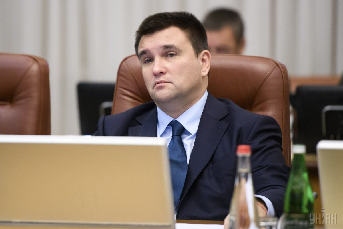 Minister Klimkin / Photo from UNIAN