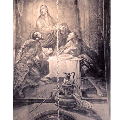 Сцена в доме апостола Клеопы в селении Эммаус. Когда воскресший Иисус (в центре) благословил и надломил хлеб, Клеопа и Лука наконец узнали Его / fakty.ua