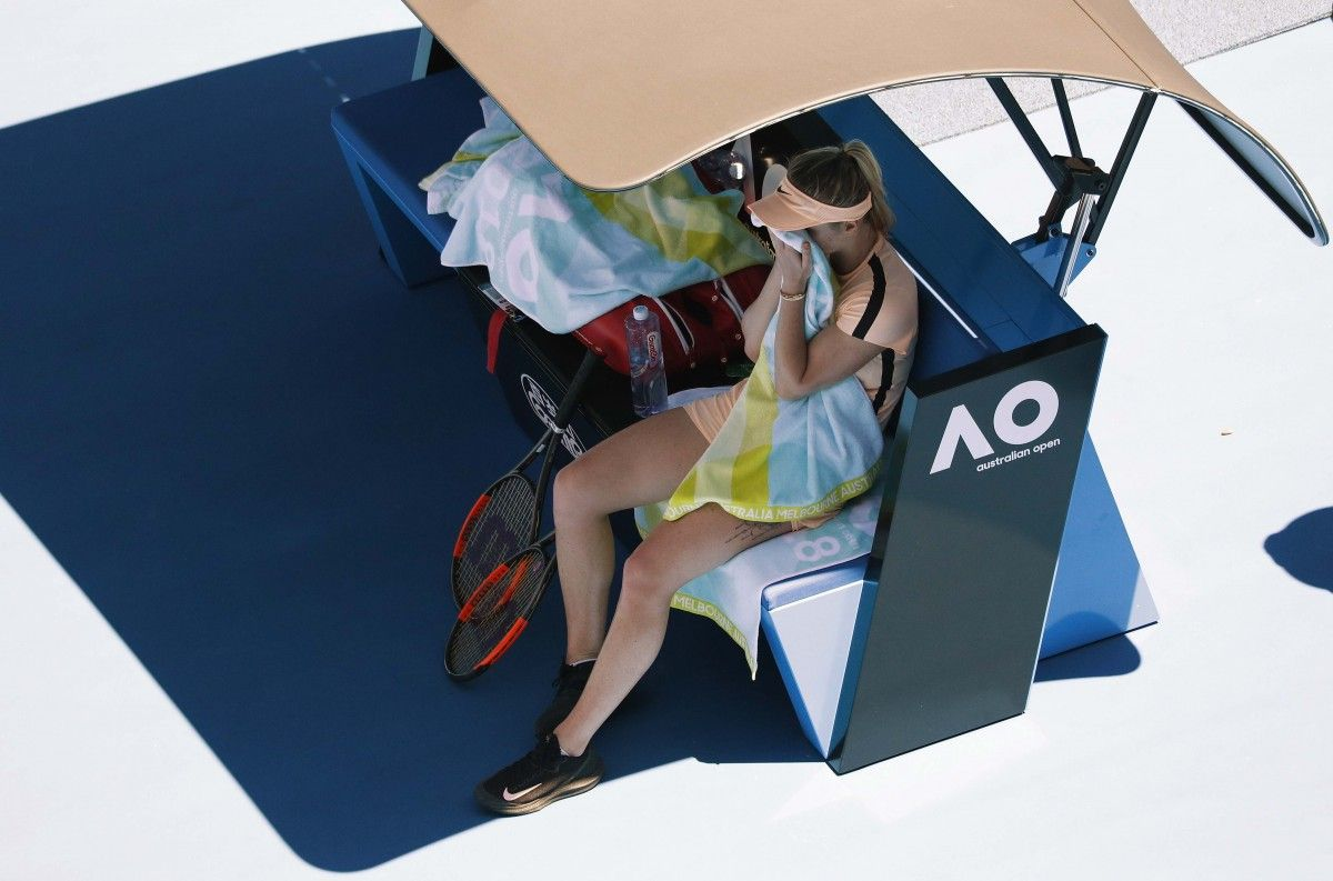 Элина Свитолина прекратила борьбу на Australian Open / REUTERS
