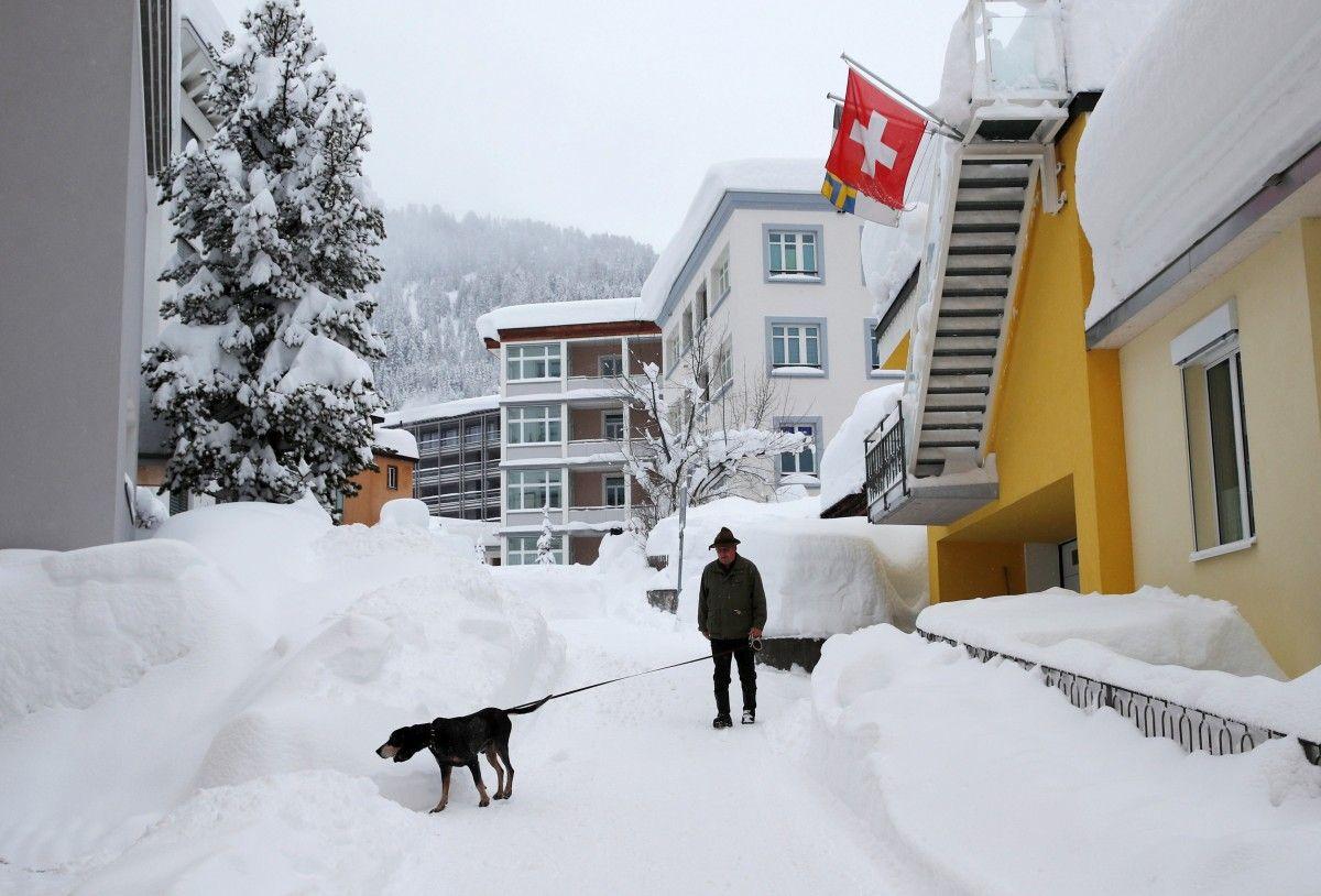 Швейцарський курорт Давос / REUTERS
