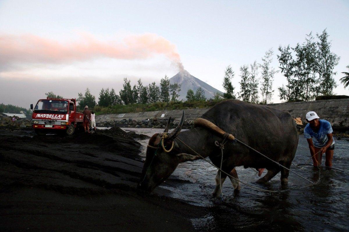 Вулкан Майон, Філіппіни / REUTERS