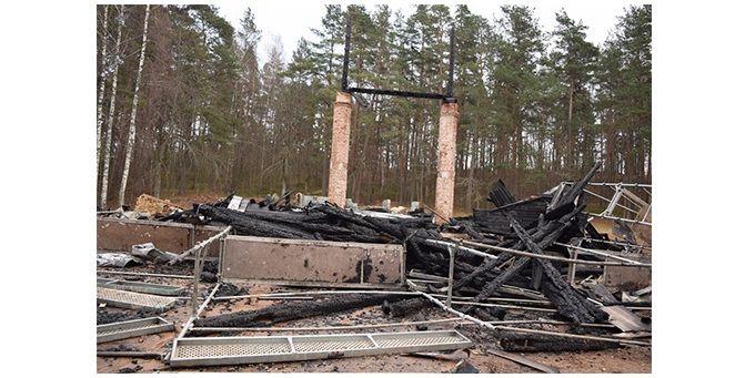 Суд оставил под стражей гражданина Литвы, который пытался сжечь в Латвии две церкви / Адажская евангелическо-лютеранская община