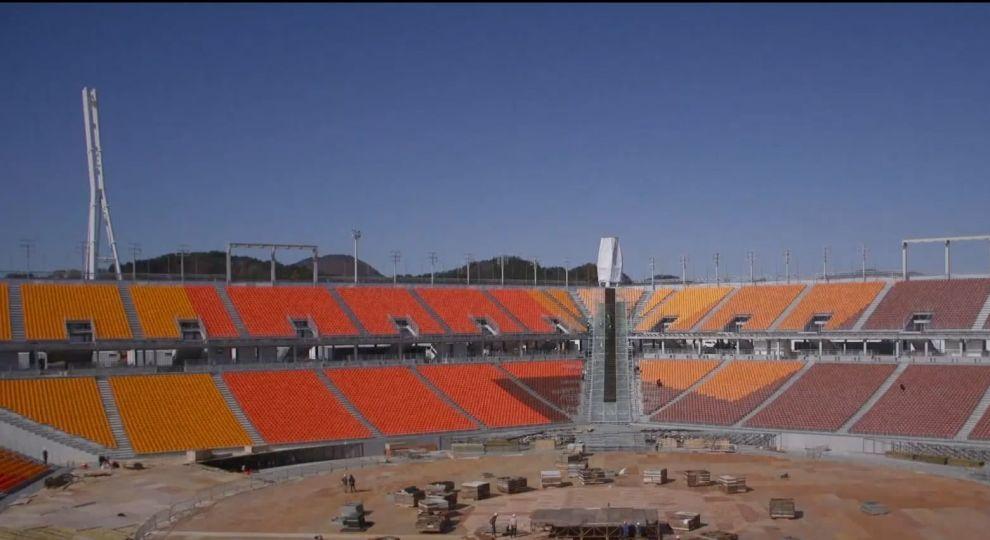 На центральном стадионе Пхенчхана состоятся церемонии открытии и закрытия Игр-2018 / tsn.ua