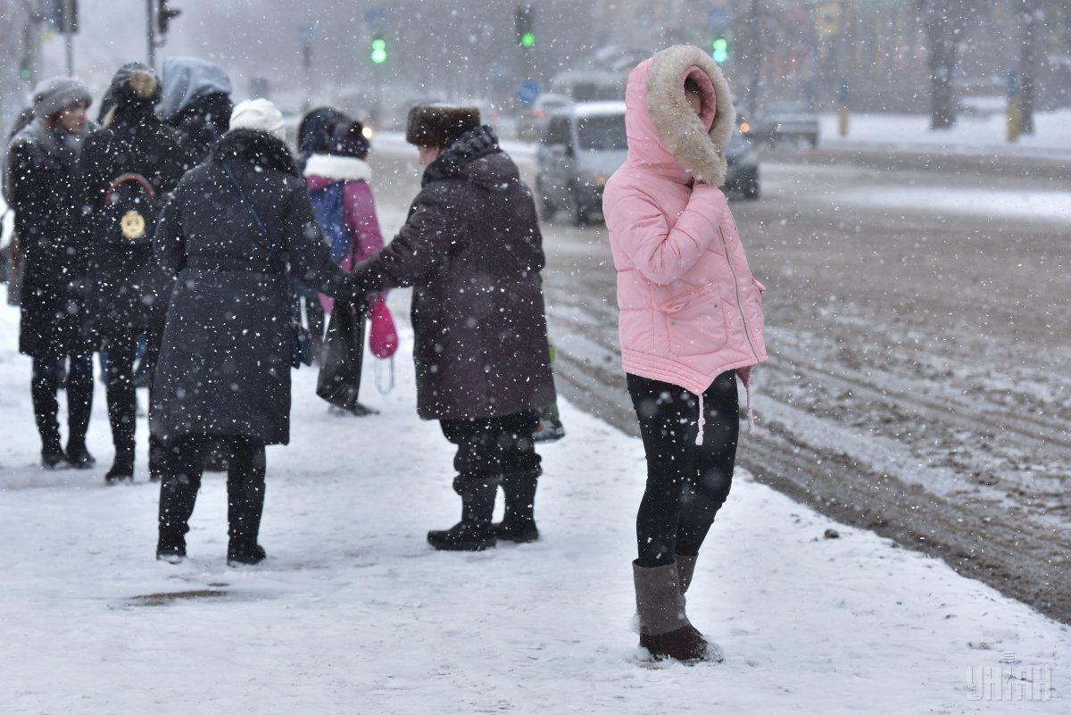 Завтра до України повернутсья снігопади / УНІАН