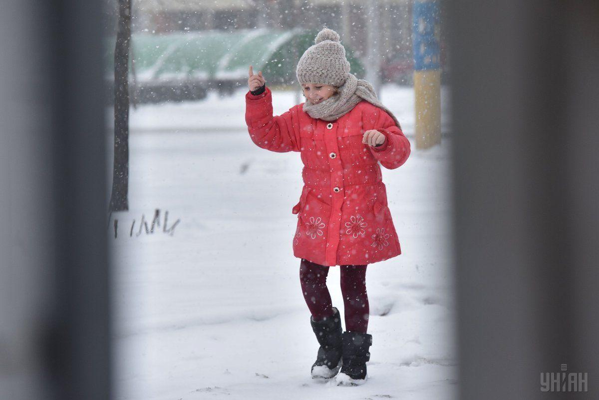 Украину сегодня накроют снегопады / УНИАН