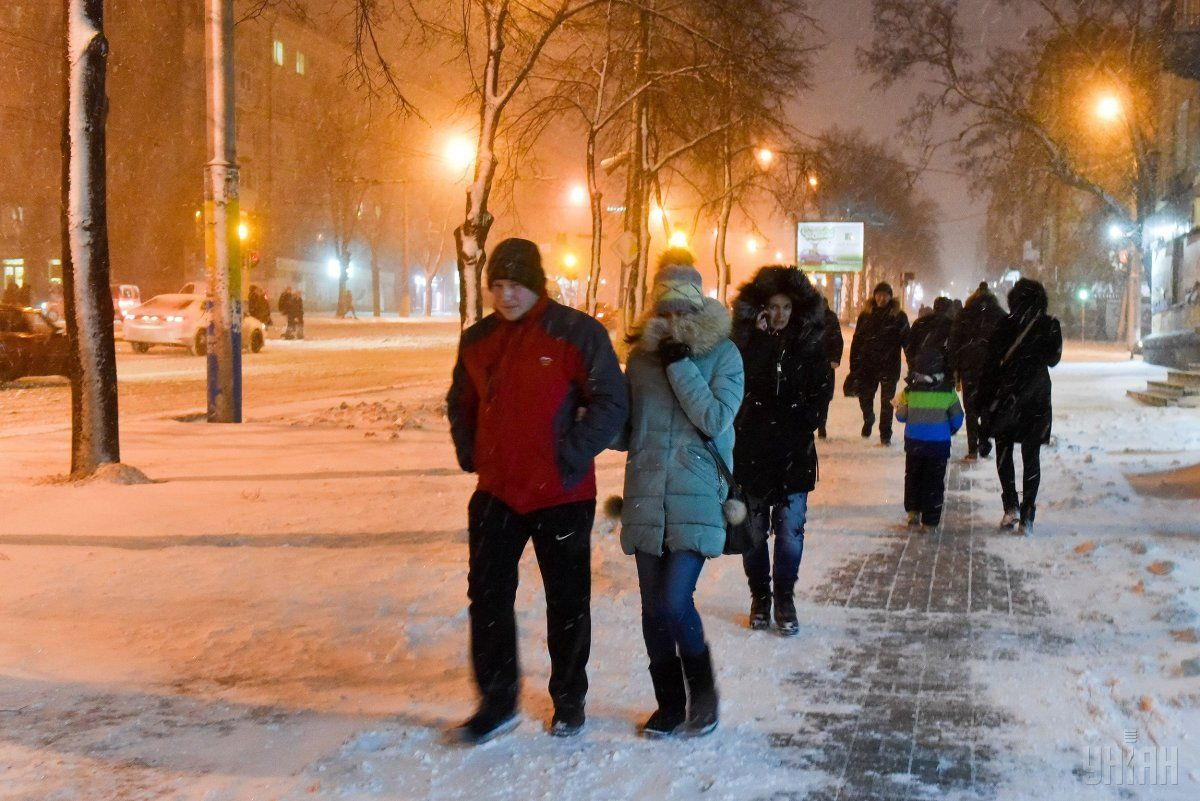 Завтра в Украине пройдет мокрый снег / УНИАН
