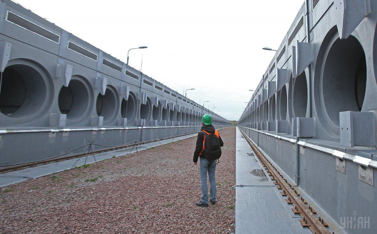 Централизованное хранилище отработанного ядерного топлива / фото УНИАН