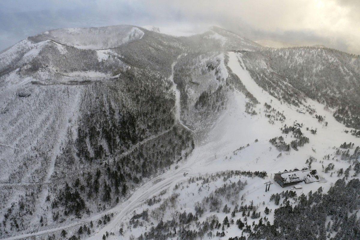 Вулкан на горі Кисацу Сиране / REUTERS