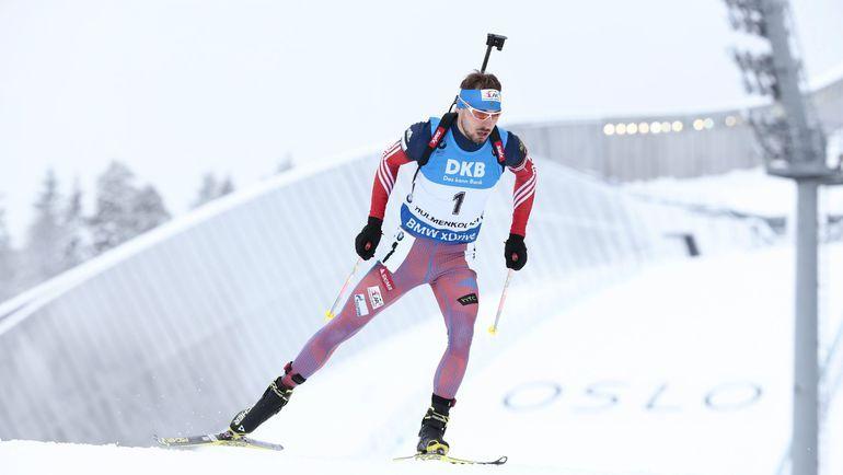 Антон Шипулин и другие сильнейшие российские биатлонисты могут не выступить на Играх-2018 / REUTERS