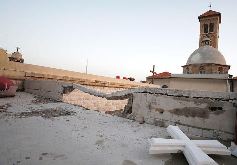 Артобстрел был направлен на традиционно христианские районы / youtube.com