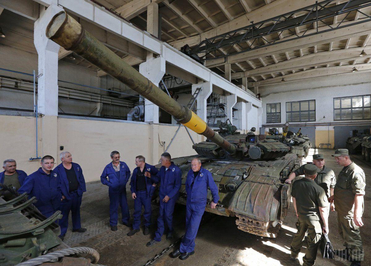 Бронетанковый завод потерял более 20 миллионов / фото УНИАН