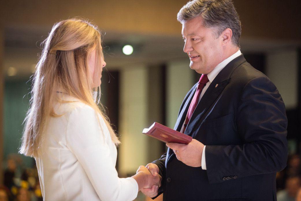 Порошенко назначил стипендии спортсменам по олимпийским видам спорта / podrobnosti.ua