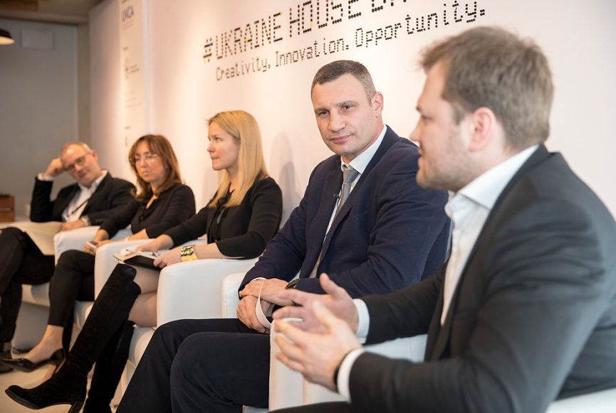 Мэр Киева примет участие в Украинском завтраке в Давосе