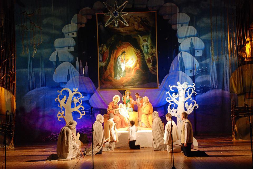Ученики воскресной школы выступили с театрализованным представлением / volyn.church.ua