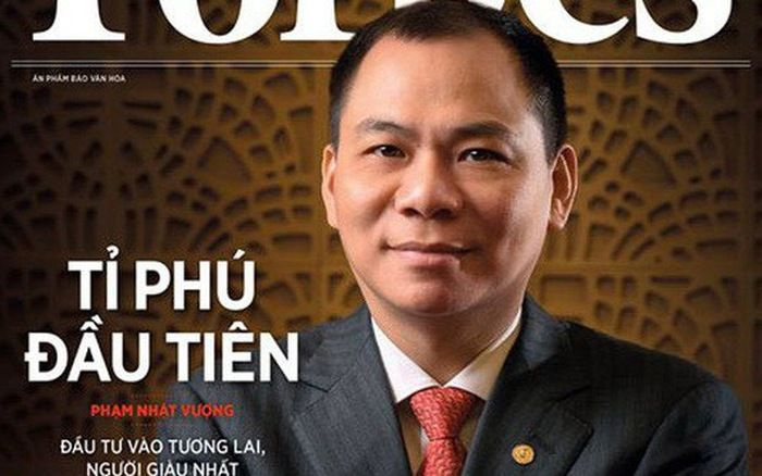 Фам Нят Выонг за 30 лет из небогатого студента превратился в миллиардера / Обложка Forbes