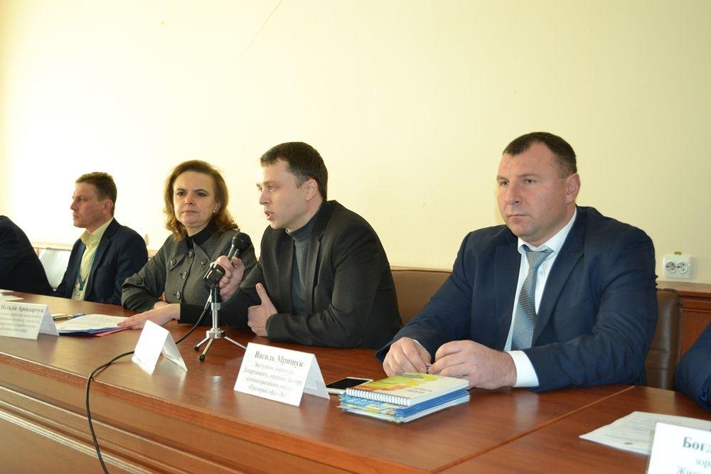 В Житомире провели семинар для повышения качества предоставления услуг в ЦНАПах / oda.zt.gov.ua