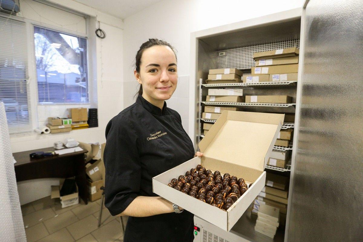 Основная продукция бренда – шоколадные плитки, драже и трюфель и конфеты / Фото УНИАН