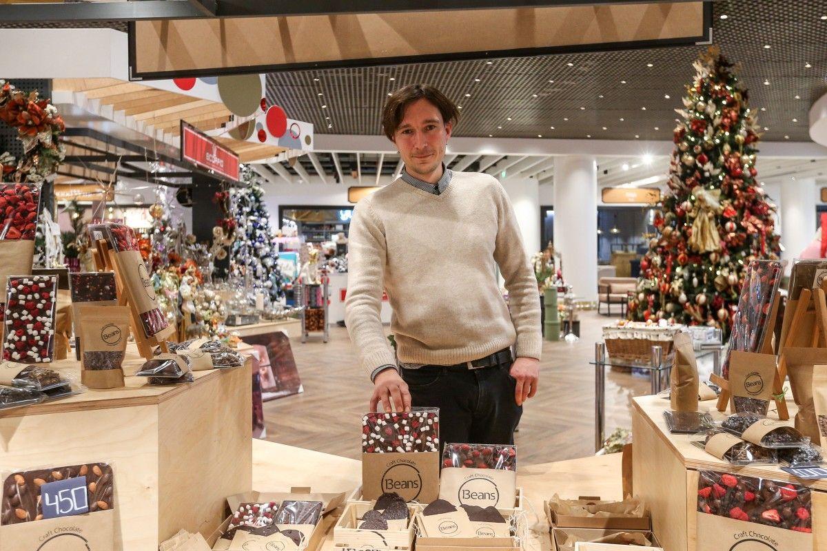 Андрей Гонтовой – маркетолог. Шоколад – это продукт, в который он верит / Фото УНИАН