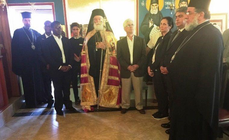 Патриарх Александрийский Феодор посетил обитель / romfea.gr