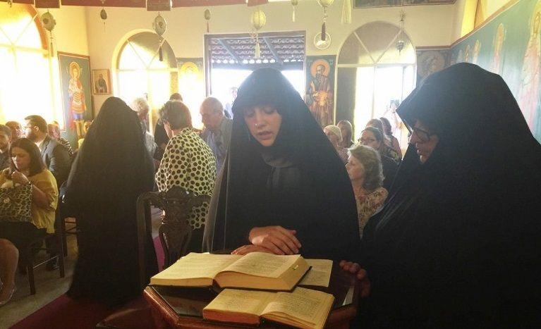В монастыре подвизаются пять монахинь