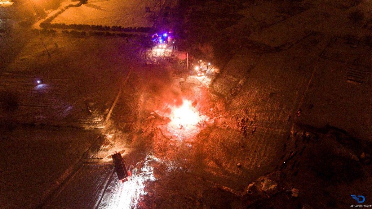 УКременчуці впав вертоліт, є загиблі