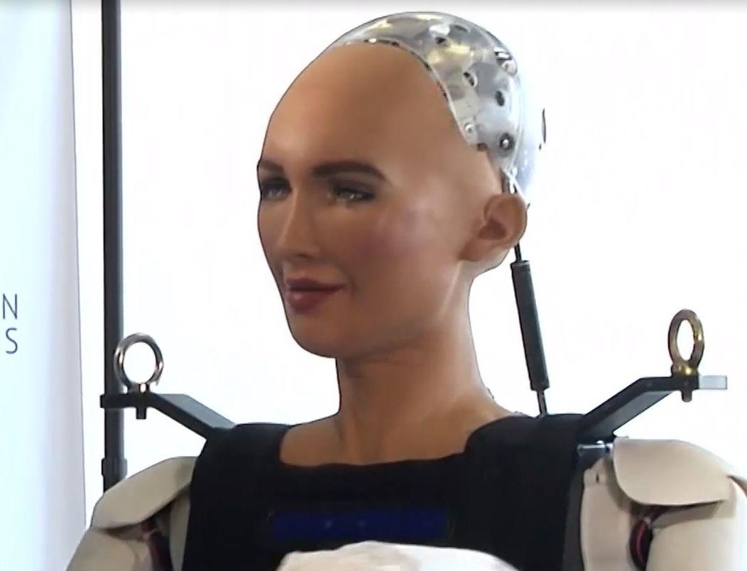 Развитый робот София пока не знает, что делать с коррупцией в Украине