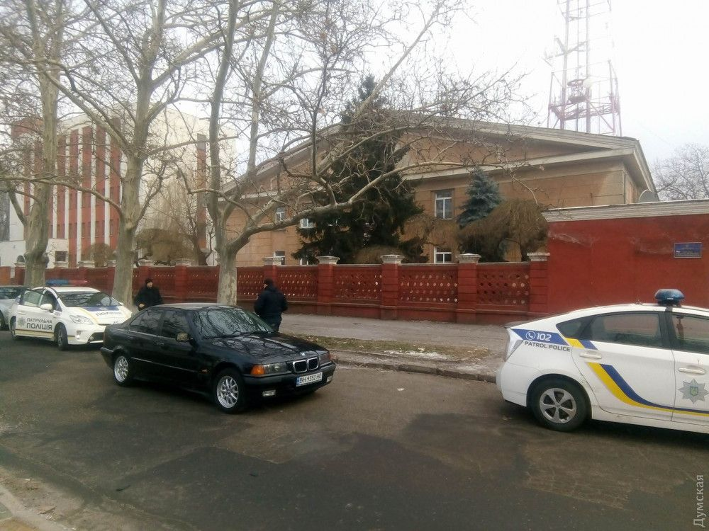 От подписания административных материалов водитель отказался / фото dumskaya.net
