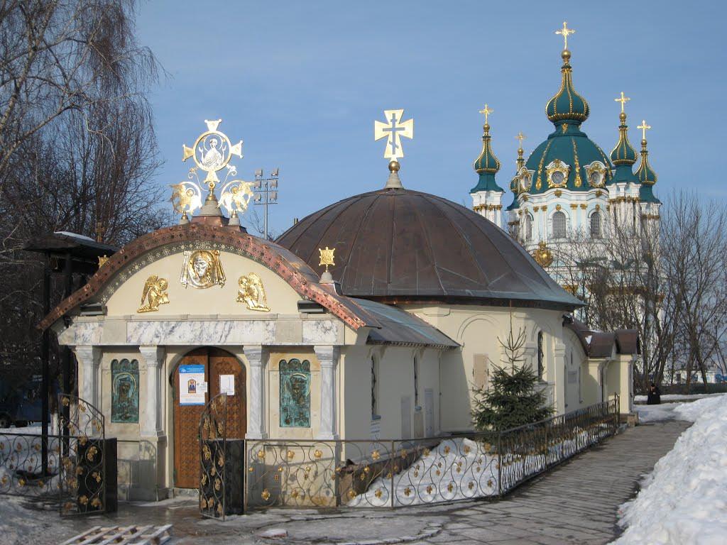 Вандалы оскверняли храм, выкрикивая оскорбления в сторону священнослужителей / news.church.ua