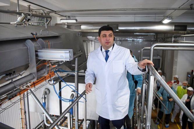 Гройсман на Тернопільщині заявив про прорив в агросекторі / фото прес-служба ТОДА