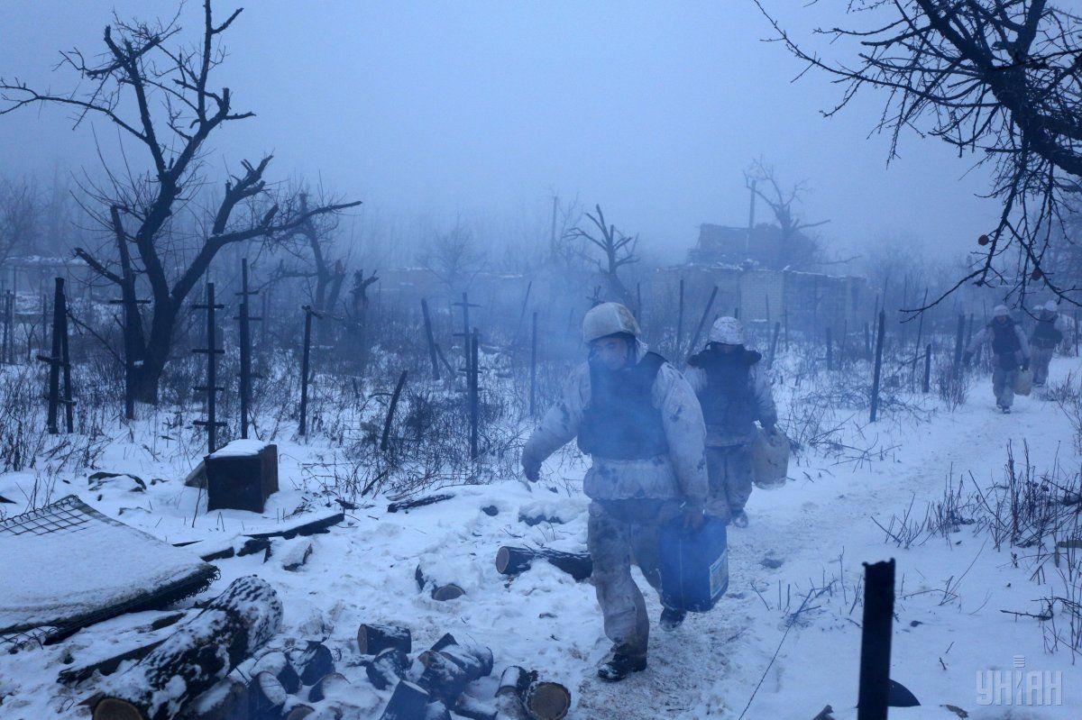 в зоне проведения АТО зафиксировано 20 прицельных обстрелов / фото УНИАН