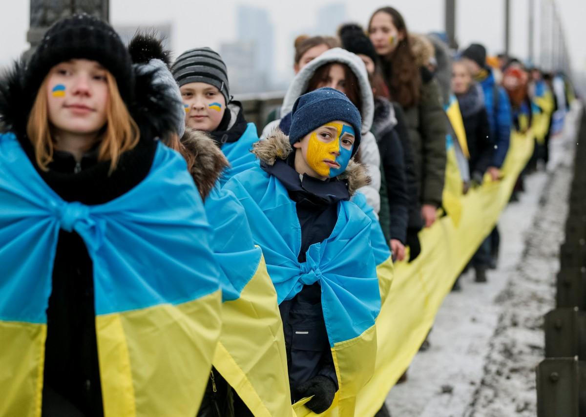 Деньсоборності України 2021- дата та традиції/ фото REUTERS