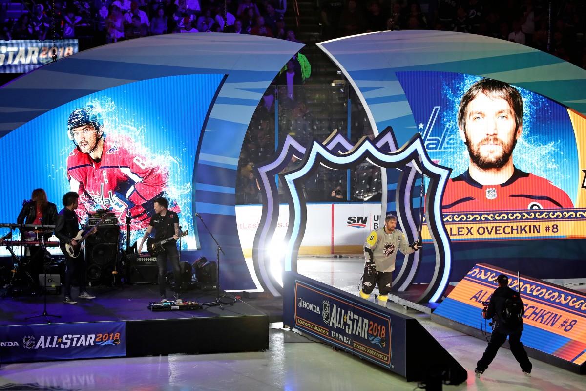 В американській Тампі відбувся традиційний Матч зірок НХЛ / REUTERS