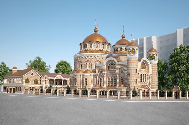 Макет собора УПЦ КП в Тернополе / tersobor.org.ua