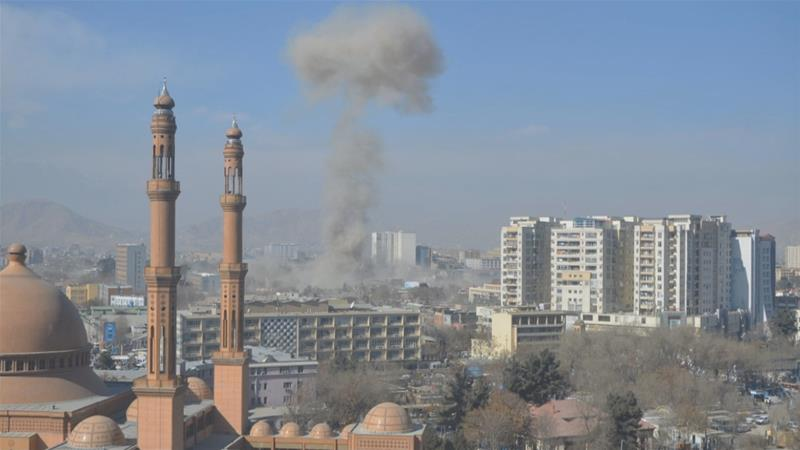 В центре Кабула 27 января прогремел взрыв / day.kyiv.ua