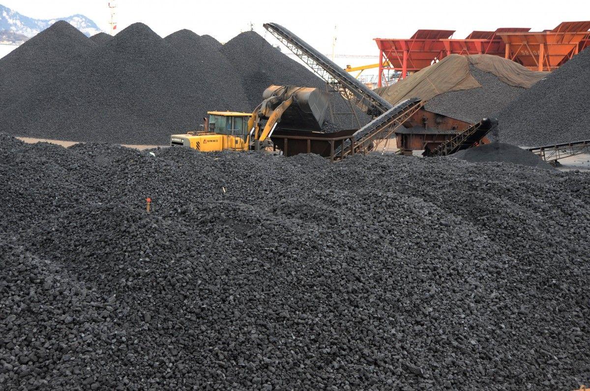 Украина вIкв. увеличила импорт угля практически в1,6 раза