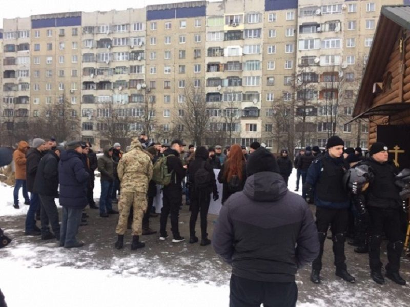 В УПЦ подчеркнули, что храм был возведен на данном земельном участке согласно Решения Львовского городского совета / dyvys.info