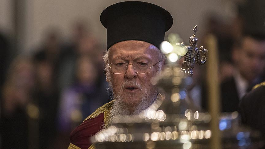 Патриарх Варфоломей / aa.com.tr