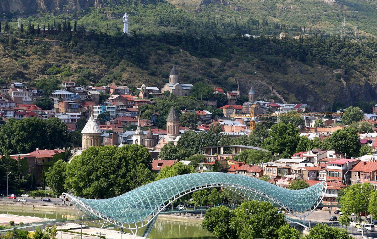 Грузинская столица Тбилиси готовится принимать украинских туристов уже с 1 июля / фото УНИАН