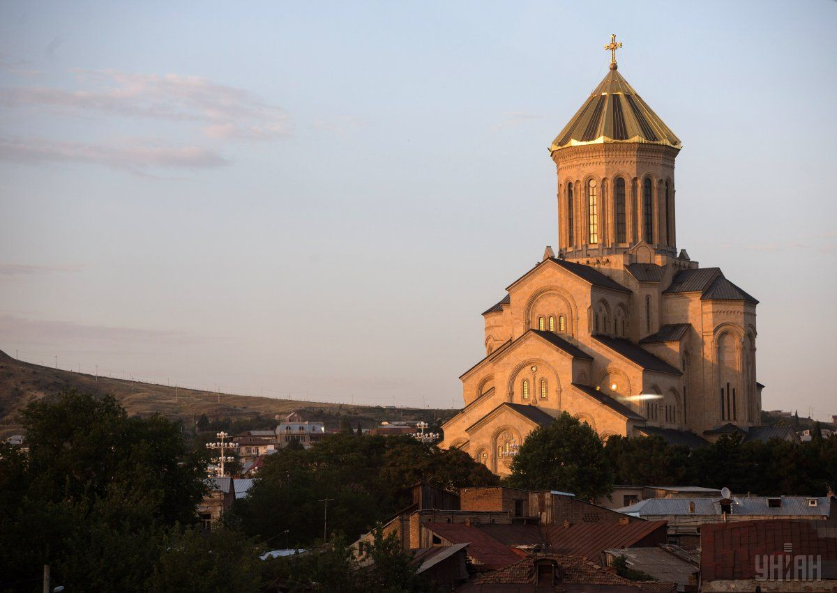 Кафедральный Собор Святой Троицы в Тбилиси / Фото УНИАН