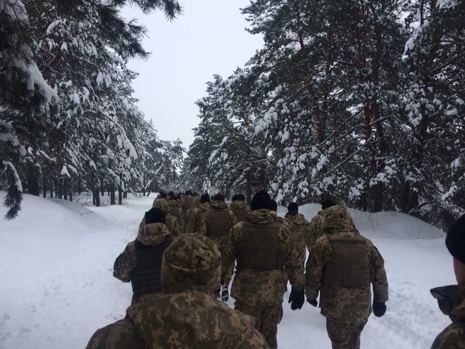 Мероприятия будут завершены до начала новогодних праздников / фото facebook.com/UkrainianLandForces