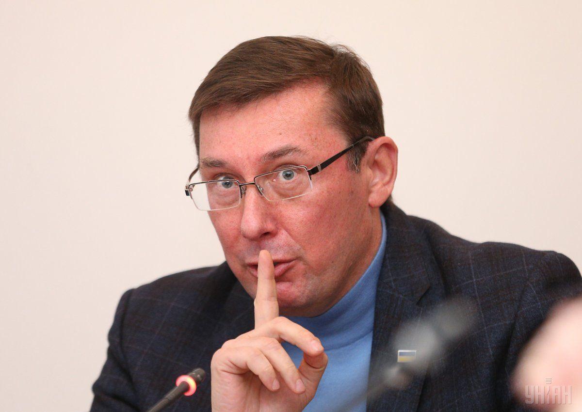 Встреча Луценко и Зеленского имела официальный характер/ Фото УНИАН