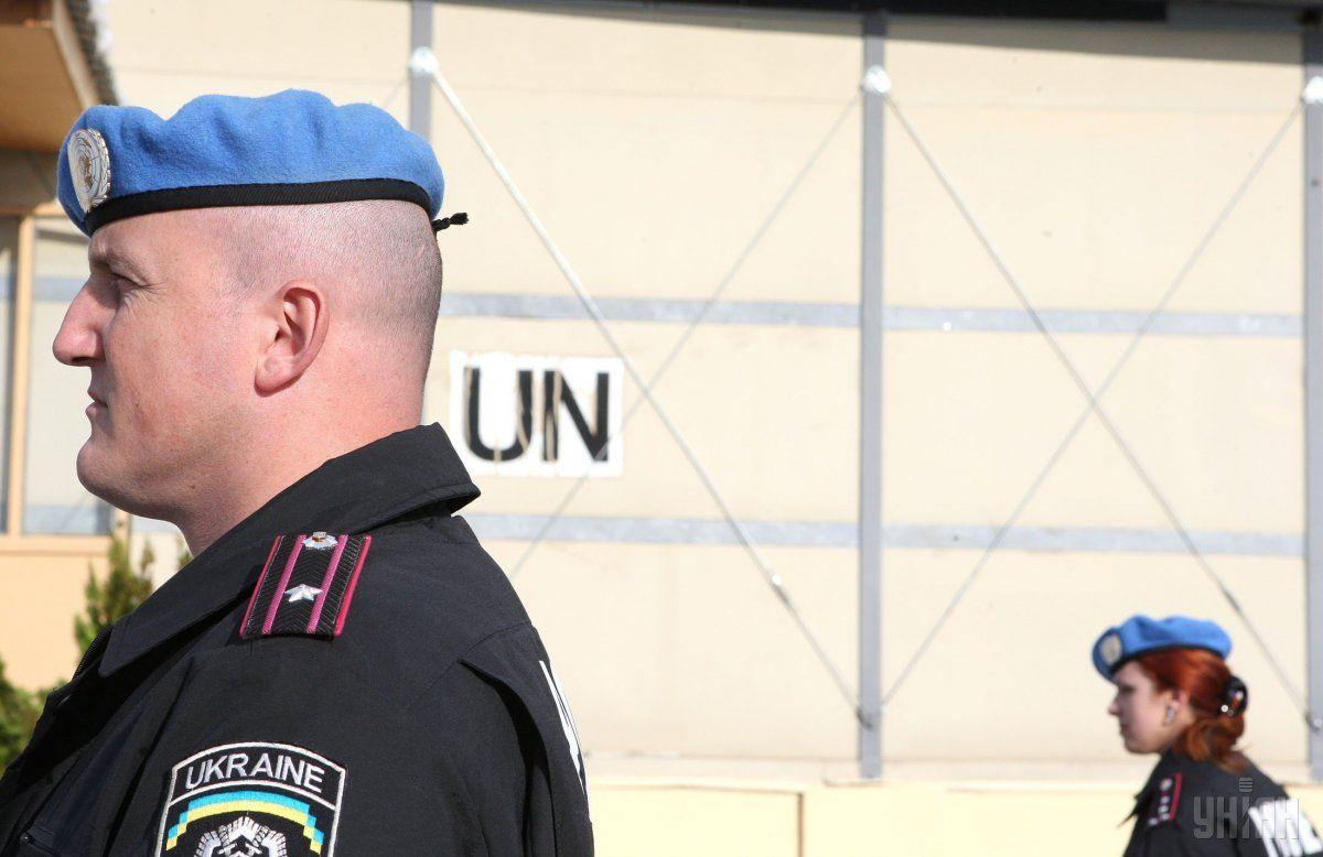 Наразі розмови ведуться про можливий склад миротворчої місії / фото УНІАН