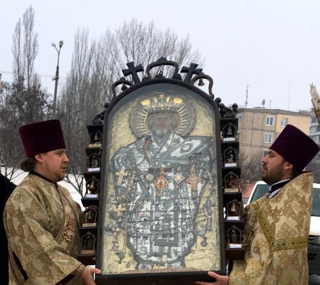Икона будет пребывать в Криворожской епархии до 15 февраля / eparhia.com.ua