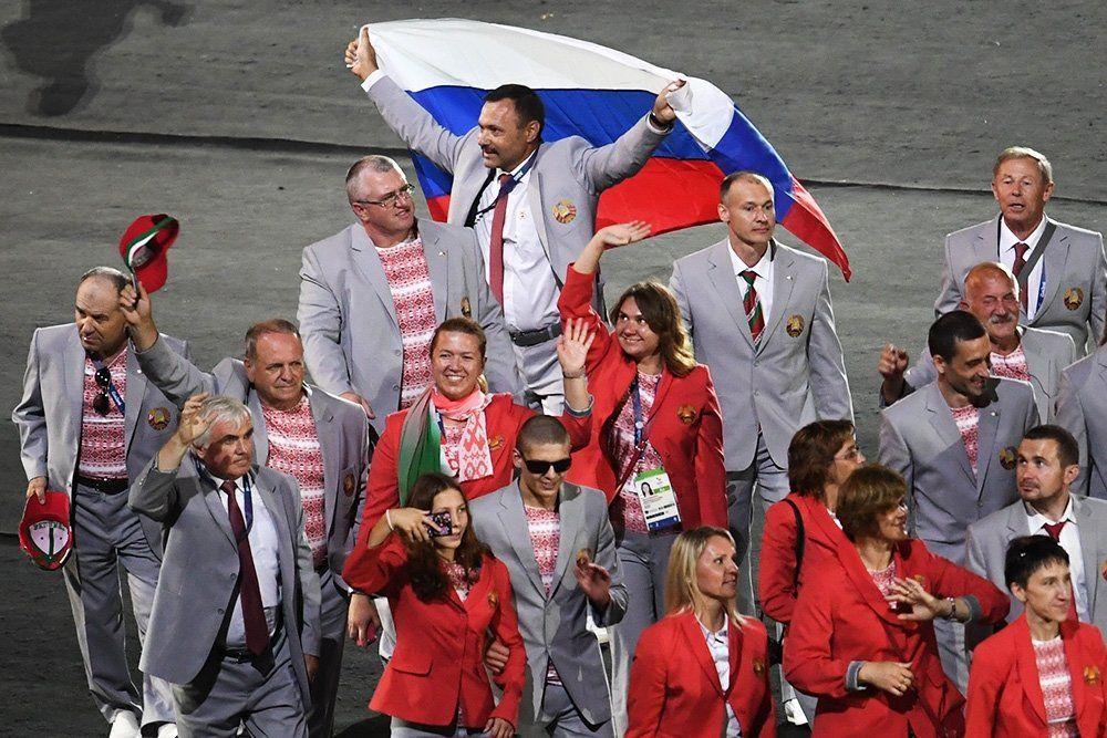 Білорусам заборонили використовувати прапор Росії на Паралімпіаді / РІА Новини