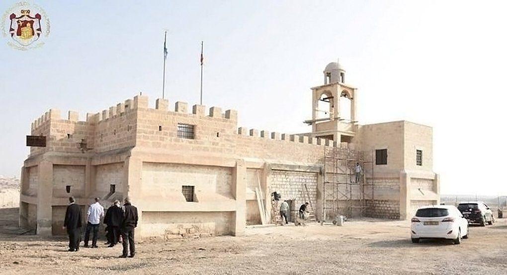 У Иордана восстановили древний монастырь Иоанна Предтечи / foma.ru