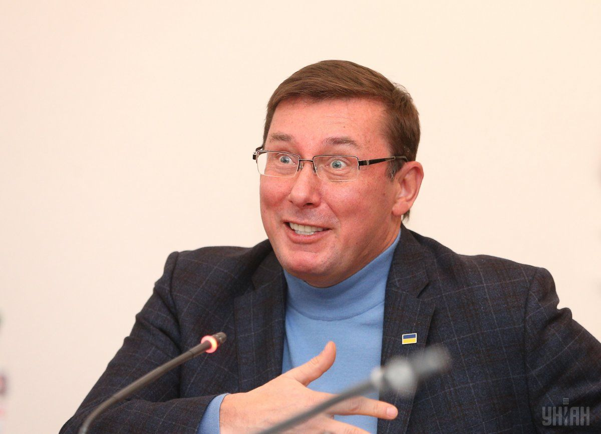 Lutsenko shared details of the Danyliuk case / Photo from UNIAN