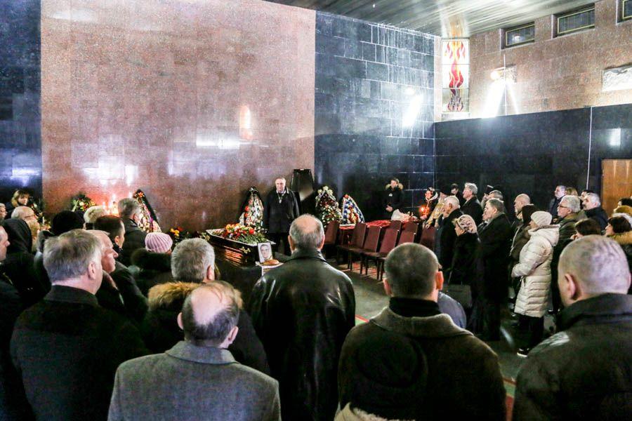 В отпевании архитектора восстановленного Успенского собора лавры участвовали братия обители / lavra.ua