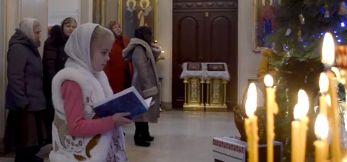 Весь комплекс литургических служений, кроме священнического, совершали дети / prosvitcentr.church.ua