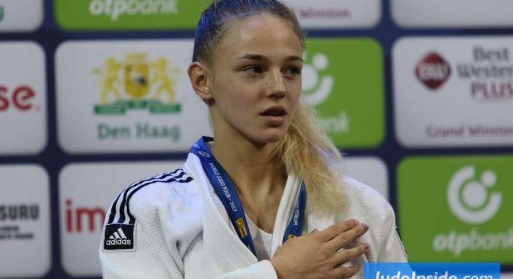 17-річна чемпіонка Європи Дарина Білодід і 29-річна Марія Черняк завоювали  медалі на Гран-прі Тунісу з дзюдо 3227aa52dd042